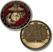 U.S. Marine Corps Jarhead / Oath -  USMC Challenge Coin *MADE IN THE USA!!