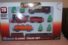Kids Stuff 26 Piece Classic Train Set - Battery Operated  NEW in Box Great GIFT