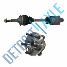 NEW  Wheel Hub Assembly + Front Left Axle Shaft - 4 Speed Automatic Transmission