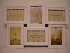 6 piezas Marco De Plástico blanco shabby chalet 10 x 15 cm Marco de foto