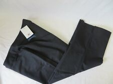 Cutter & Buck Womens Cropped Ankle Pants Black Size 14 #6554