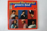 around the worl James Last 3 LP Spanien Russland Frankreich Mexico Italien(LP31)