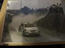 FORD ESCORT RS COSWORTH TALAVERA RALLY CAR 1990 - PRESS MEDIA PHOTOGRAPH