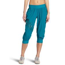 Zumba Fitness LLC Damen Feelin It Cargo Capri , Pfau, XXL