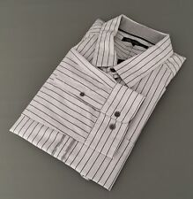 New $69.99 KENNETH COLE Gray Stripe Men's Long Sleeve Dress Shirt Sz.XXL
