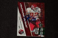 DWAYNE BOWE 2011 PANINI EX ADRENALYN SIGNED AUTOGRAPHED CARD CHIEFS