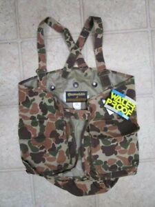 Vintage Gamehide Upland Hunter Camo Vest - Size XL