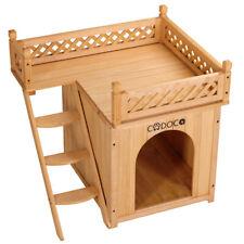 Hundehütte Hundehaus Hundehöhle Katzenhaus Tierhaus Hund Holz Box wetterfest