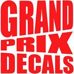 Grand Prix Decals