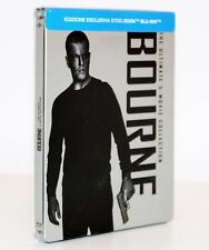 BOURNE. THE ULTIMATE 5 MOVIE COLLECTION STEELBOOK - BLU-RAY NUOVO