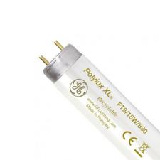 X 10 GE Polylux XL 18w T8 Tubes Fluorescentes - G13 Casquette (3000k / Warm