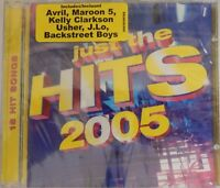Just The Hits 2005 by Various Artists (CD, Aug-2005, Sony BMG) Brand NEW
