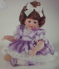 Coa #229 Nfrb Rare Marie Osmond Baby Abigail Crystal Anniversary Porcelain Doll