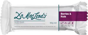 Dr. MacLeods VLED Berries & Nuts Bar x 12