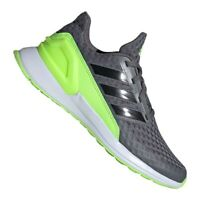 Running shoes adidas RapidaRun Jr FV4100 grey green
