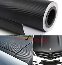 Whole Car Wrap - CBW 3D Carbon Fiber Vinyl Film Sticker Black Decal 50FT x 5FT
