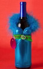 Bottle Babes Turquoise Wine Bottle Cover