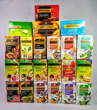 Twinings Tea Massive Variety Selection,22 Boxes,445 Teabags,Black,Green & Herb