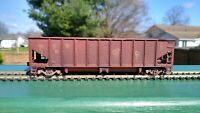 HO Scale Open Hopper - Undecorated - One of Kind - Heavily WEATHERED!
