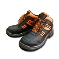 NEW MENS SAFETY WORK BOOTS PROTECTIVE SHOES HIKER  STEEL TOE CAP ALL SIZE UK