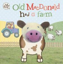 Old Mac Donald farm Finger puppet Board book by Little Learners (NEW)!!!!