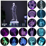 Kids NEW YEAR Gifts 3D Acrylic LED Desk Lamp 7 Colour Touch Change Night Lights
