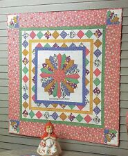 Granny's Kitchen Wallhanging Quilt Pattern Pieced/Applique RN