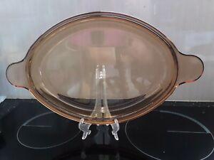 Corning Vision 20cm Tapa de vidrio de color ámbar