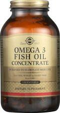 Solgar Omega-3 Fish Oil Concentrate 120 Softgels
