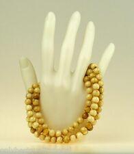 Nobles Collier de perles tesbih chaîne pour femme népal Bijoux Rosario Buddha