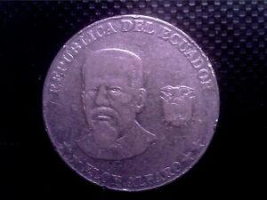 ECUADOR      50   CENTS   2000   BIG COIN     JUL14F