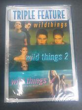 Wild Things Box Set (DVD, 2008, 3-Disc Set) NEW
