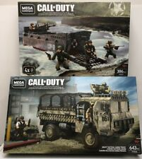 Mega Call Of Duty Beach Invasion And Heavy Tactical Cargo Truck FVG06 & FXG07
