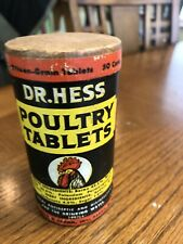 Dr Hess Poultry Tablets Package Rooster