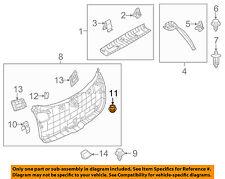 MAZDA OEM 13-15 CX-5 Liftgate Tailgate-Lower Gate Trim Fastener KD4568865