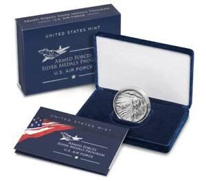 U.S. Air Force 2.5 Ounce Silver Medal U.S. Mint