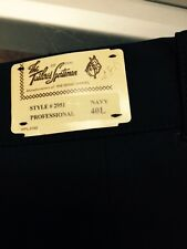 NWT MEN'S PROFESSIONAL TAILORED SPORTSMAN BREECHES NAVY 40L STYLE 2951