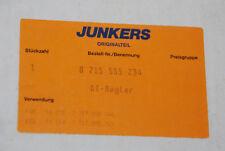 BOSCH JUNKERS 8715555234 AT-REGLER HEIZUNGSREGLER TA21E/A TA 21 E/A NEU