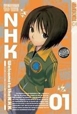 Welcome to the N. H. K. NHK Vol 1 Tatsuhiko Takimoto rare oop AC Manga graphic