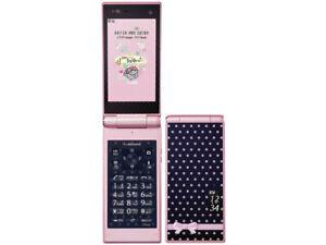 Docomo Fujitsu F-06D Style Series Pink Unlocked Flip Phone used from Japan