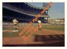 MICKEY MANTLE HR IN 1961 RUN RACE WITH MARIS & BERRI + AMAZING MANTLE ON DECK #2