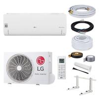 LG Standard Klimaanlage S09EQ R32 2,5kW + 5 Meter Montage Set