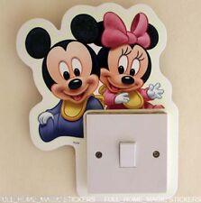Glow in the Dark Mickey Mouse Light Switch Sticker
