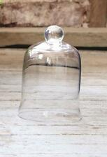 GLASS CLOCHE DOME- BELL JAR-French Country-Garden-PETITE