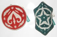 NwT Large SuEdE Christmas Ornament SeT Red & Green