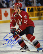 Simon Gagne SIGNED 8x10 Photo TEAM CANADA OLYMPICS PSA/DNA AUTOGRAPHED