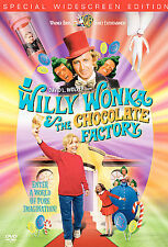 Willy Wonka And The Chocolate Factory (DVD, 2001) Gene Wilder Classic Retro R4
