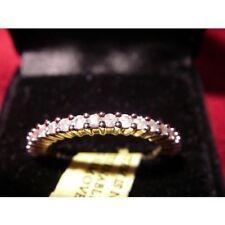 Gold Band Not Enhanced Fine Diamond Rings