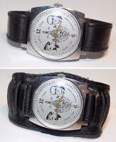 Rare montre ancienne mécanique homme ZIM-KGB, bracelet neuf