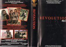 REVOLUTION - Gatefold box -VHS - PAL -NEW - Never played! - Original Oz release